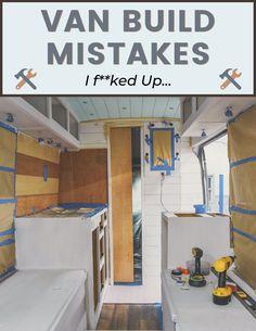 Van Conversion Campervan, Cargo Van Conversion, Diy Van Conversions, Sprinter Van Conversion, Build A Camper Van, Diy Camper, Minivan, Ford Transit Campervan, Van Storage