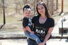 """Happy Monday Just in case you missed it, we have added """"Ain't no Mama like the one I got"""" shirts for ladies 
