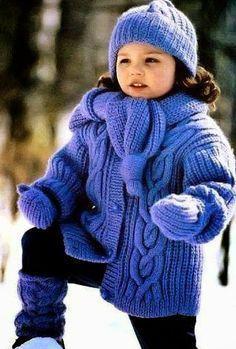 Модели вязания со схемами и описаниями: Невероятной красоты курточка для вашей малышки!
