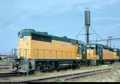 RailPictures.Net Photo: CNW 827 Chicago & North Western Railroad EMD GP35 at Melrose Park, Illinois by Marty Bernard