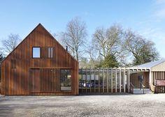 Mottisfont New Visitor Facilities, Romsey   RIBAJ