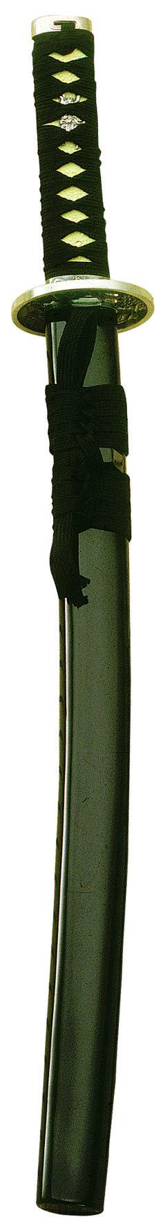 MARTO-Wakizashi Black Wood-Oriental Weapons