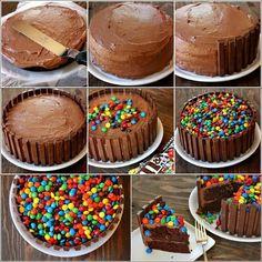 Gâteau anniversaire... ...