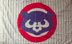 MLB Chicago Cubs New Flag Banner 3X5 Indoor Outdoor Man Cave Gift  #ChicagoCubs