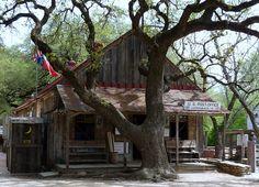 Luckenback, Texas (yep, the one Waylon and Willie made famous)
