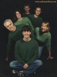 Awkward Family Photo - St. Patrick's Day Edition. See more here: http://abcn.ws/1HSRpnp