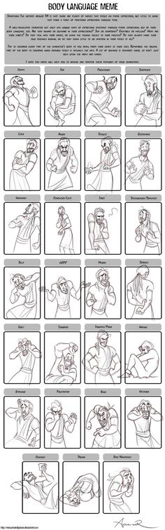 Body Language Meme by ancalinar on deviantART