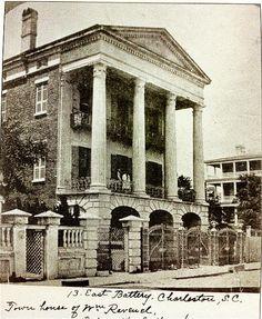 Old Photo of 13 E. Battery Charleston,SC