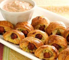 Reuben Pigs in Blankets #recipe