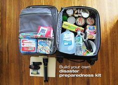The CDC Emergency Preparedness and Response and American Red Cross advise families to have a kit that can last 72 hours.  Here's how to build one for your family >> http://oak.ctx.ly/r/z2e5