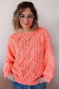 Knitting Patterns Free, Free Knitting, Needles Sizes, Sweater Jacket, Blog, How To Wear, Outfits, Women, Knit Sweaters