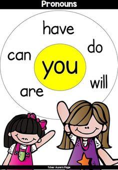 English Grammar For Kids, English Phonics, Learning English For Kids, Teaching English Grammar, English Worksheets For Kids, English Lessons For Kids, Kids English, English Language Learning, English Vocabulary Words