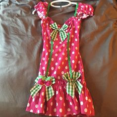 """Raspberry Girl"" costume. Worn one time & has been in closet ever since! Other"