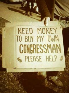 So who wants to chip in?  We can buy our own Sons of Liberty congressman. - http://www.sonsoflibertytees.com/patriotblog/so-who-wants-to-chip-in-we-can-buy-our-own-sons-of-liberty-congressman/?utm_source=PN&utm_medium=Pinterest&utm_campaign=SNAP%2Bfrom%2BSons+of+Liberty+Tees%3A+A+Liberty+and+Patriot+Blog  www.SonsOfLibertyTees.com Liberty & Patriotic Threads   http://goo.gl/zrC3U1