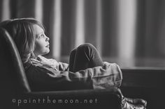 Lifestyle Photography - This Is Our Life | Window Light and Shadows, Black and White | Paint the Moon Photoshop Actions