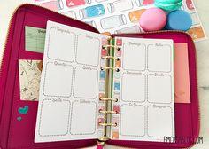 DOWNLOAD: KIT PLANNER SEMANAL E MENSAL Agenda Planner, Download, Bullet Journal, Printables, Scrapbook, Organization, Journal Ideas, School, Frame