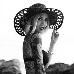 My (almost) hidden passion for ink — inkbw:   @rae_p87  Shot by @touchekvlt...