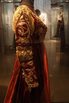"""Lady Capulet in """"Romeo and Juliet"""", for the ballet with Rudolf Nureyev. Museum of the Paris Opera"""