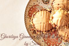 Ghoribiya Gianduja ou Peanut Butter - Dunya Halawa _ Pâtisserie & Cake Design