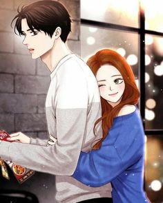 Manga Couple Anime love bird – Animefang - Visit the post for more. Cute Couple Drawings, Anime Couples Drawings, Cute Couple Art, Anime Couples Manga, Cute Anime Couples, Love Cartoon Couple, Cute Love Cartoons, Anime Love Couple, Manga Couple