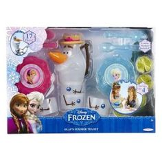 #Indianapolis, IN Merchandise / #Disney #Frozen Olaf's Summer Tea Set - Geebo - Inspired by the movie