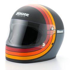 Blauer 80's helmet - Black