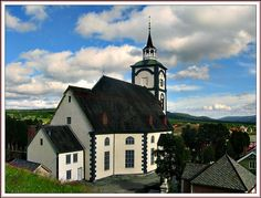 'Bergstadens Ziir' - better known as Røros Church - was built during the copperwork's golden age 'in God's honour and as an adornment to the town and was completed in 1784.  Norway