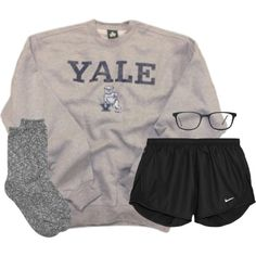 Love this lazy college outfit, preppy school outfits, spring school outfits, lazy winter Lazy College Outfit, Preppy Outfits For School, College Outfits, Lazy Day Outfits For Summer, Lazy School Outfit, Cute Comfy Outfits, Chill Outfits, Trendy Outfits, Casual Sporty Outfits