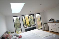 Loft Conversion Windows, Loft Conversion Bedroom, Loft Conversions, Loft Room, Bedroom Loft, Modern Bungalow Exterior, Roof Extension, Dormer Windows, Home Projects
