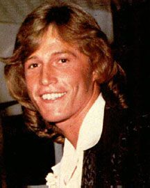 Andy Gibb AKA Andrew Roy Gibb  Born: 5-Mar-1958 Birthplace: Manchester, England Died: 10-Mar-1988 Location of death: Oxford, England [1] Cause of death: Infection Remains: Buried, Forest Lawn Memorial Park Cemetery, Hollywood Hills, CA  Gender: Male Race or Ethnicity: White Sexual orientation: Straight Occupation: Musician  Nationality: England Executive summary: I Just Want To Be Your Everything