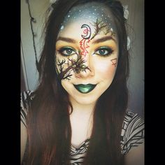 ▪️Earth from the House of night inspired makeup▪️