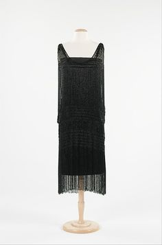 Evening Dress Coco Chanel, 1924-1926 The Metropolitan Museum of...