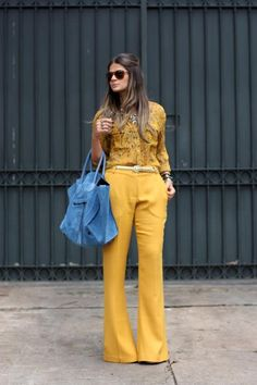 Yellow Pants - Thassia Naves