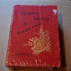 Treasure Island Easton Press 1885 Deluxe Limited Clam Shell Edition, Like New