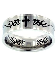 Concave Cross Ring