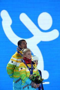 Aliona Savchenko and Robin Szolkowy - Sochi 2014