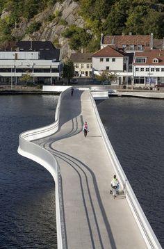 "The bridge by ""Buen"" Cultural Centre, Mandal, Norway. Visit the slowottawa.ca boards >> http://www.pinterest.com/slowottawa/"