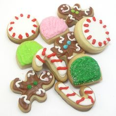 mini Christmas candy cookies 4 | Flickr - Photo Sharing!