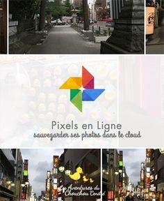 Pixels en ligne : sauvegarder ses photos dans le cloud Material Design, Google Font, Application Google, Le Cloud, Pixel, Photos Du, Google Drive, Blog, Fishing Line