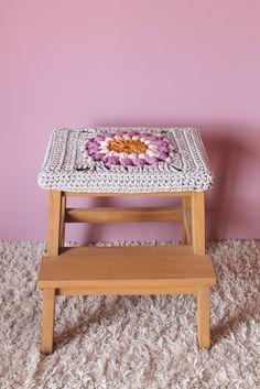 matemo: Ikea hacks, stool crochet cover