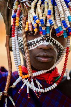 Africa | Child from the Omo Valley, Ethiopia | © Laura Saffioti