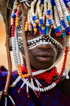 Africa | Child from the Omo Valley, Ethiopia | © Laura Saffioti