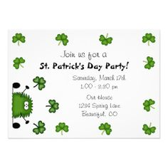 =>Sale on          	Cute St Patrick's Day Party Invitation           	Cute St Patrick's Day Party Invitation we are given they also recommend where is the best to buyDiscount Deals          	Cute St Patrick's Day Party Invitation Online Secure Check out Quick and Easy...Cleck Hot Deals >>> http://www.zazzle.com/cute_st_patricks_day_party_invitation-161970559906923534?rf=238627982471231924&zbar=1&tc=terrest