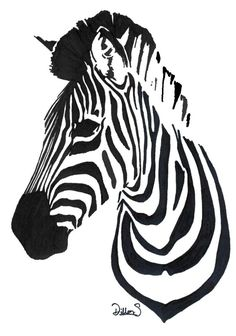 Zebra by ~LayeroftheBrick on deviantART