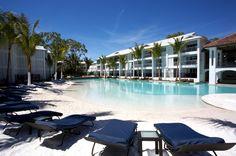 Peppers Beach Club, Port Douglas, is reminiscent of a Mediterranean villa with its elegant open-air design.  http://www.peppers.com.au/beach-club/