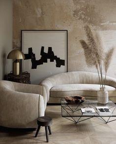 Tiny Living Rooms, Living Room Interior, Home And Living, Living Room Decor, Modern Interior Design, Interior Design Inspiration, Interior Styling, Design Ideas, Decoration Design
