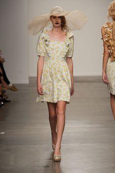 Ivana Helsinki at New York Fashion Week Spring 2014 - Runway Photos Spring 2014, Spring Summer, Summer 2014, Helsinki, Ready To Wear, Runway, Short Sleeve Dresses, New York, How To Wear