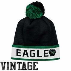 6fd893c51 Mitchell   Ness Philadelphia Eagles Vintage Block Cuffed Knit Beanie - Black