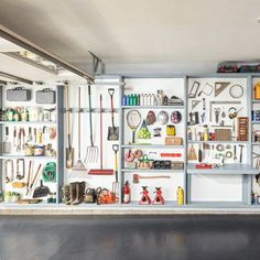 The Benefits Of This Storage Solution Are Endless! You Only Need Two Power  Tools And A Weekend Or Less. This Storage Idea Turns The Whole Wall Into  Storage ...