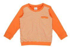 Dis une couleur - T-shirt oranje print | T-shirts meisjes | Calomel